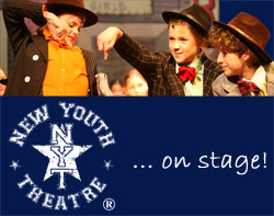 New Youth Theatre School Grantham logo