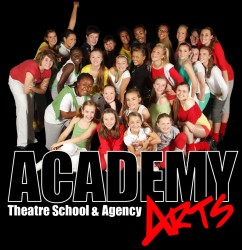 Academy Arts Theatre School and Agency Epping logo