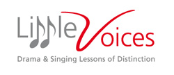 Drama school Blackburn Little Voices drama classes singing lessons Blackburn Lancashire logo