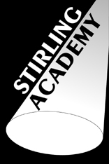 1st for drama at Stirling Academy Performing Arts School Bolton logo