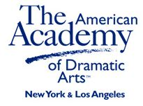 The American Academy of Dramatic Arts New York	 logo