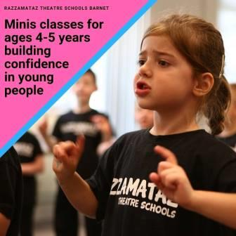 Children's drama classes Barnet