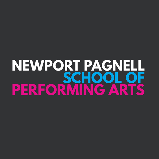Newport Pagnell School of Performing Arts logo