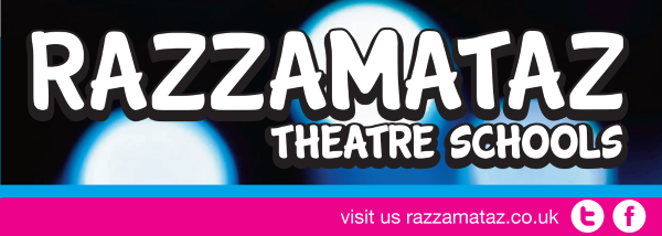 Razzamataz Performing Arts School Wimbledon logo