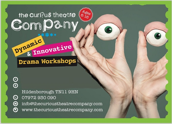 The Curious Theatre Company Kent | Drama classes in Hildenborough in Kent logo