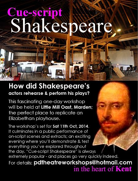 Shakespeare Workshop in Kent