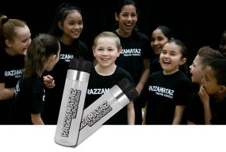 Razzamataz Water Bottles