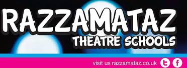 Razzamataz Theatre School Plymouth based in Devon logo