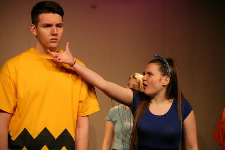 Charlie Brown and Lucy Snoopy Blag Youth Theatre