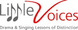 Singing and Drama School Little Voices Richmond. Singing and Drama Classes Richmond. logo