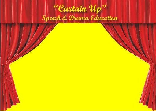Croydon Curtain up Speech & Drama School in Croydon logo