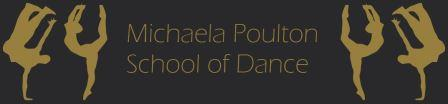 Michaela Poulton School of Dance Rockbeare and Cranbrook near Exeter logo