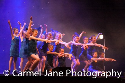 Performance at Rise Dance School Rickmansworth