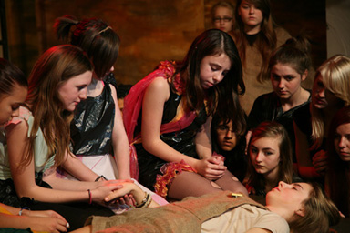 Enfield Drama School Students