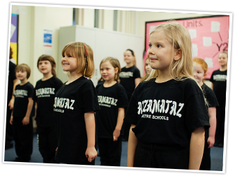 Razzamataz Theatre School Tonbridge logo