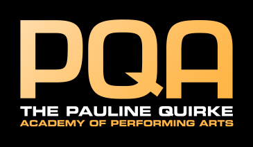 Pauline Quirke Academy of Performing Arts Greenwich logo