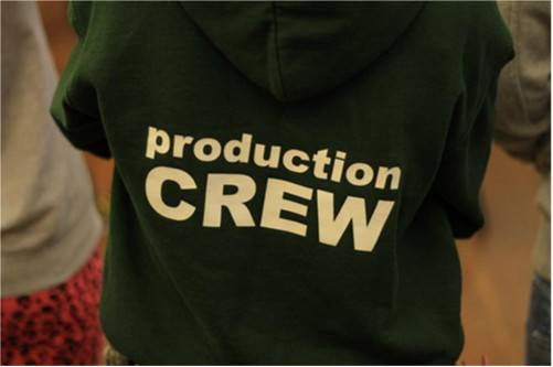Production Crew T shirt