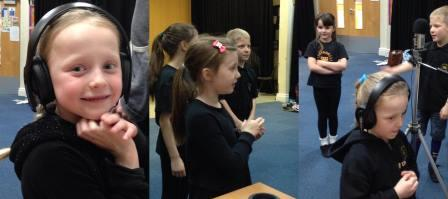 Singing lessons at Wetherby Theatre School