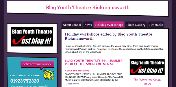 Add Your Holiday Workshops