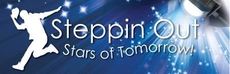 Reading Steppin out  Stars of Tomorrow Performing Arts School in Woodley Reading Berkshire logo