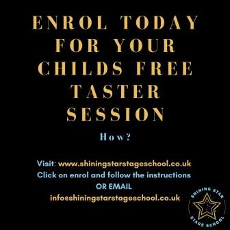 Enrol in our Stage school today
