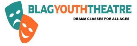 Blag Youth Theatre Pinhoe,  Exeter  logo