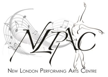 New London Performing Arts Centre (NLPAC) Muswell Hill, London logo