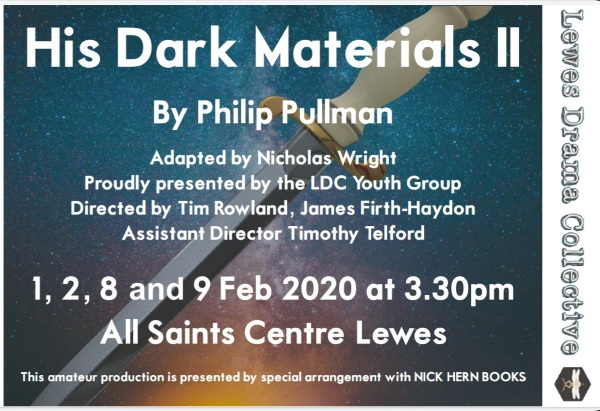 His Dark Materials in Lewes - Get your tickets