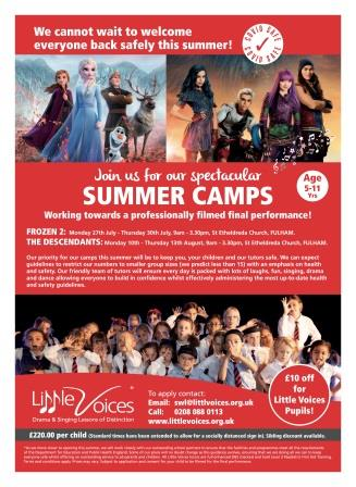 Summer Holiday Camp Fulham