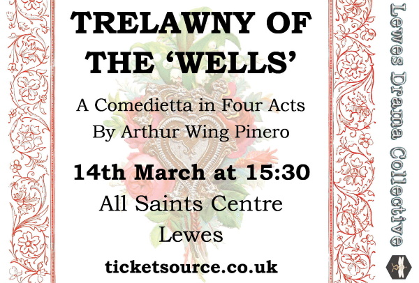 Trelawny of the 'Wells' Quarter Page